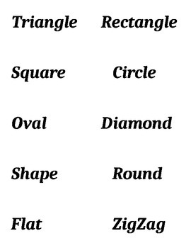 2D Shapes Math Bingo Game and Booklet