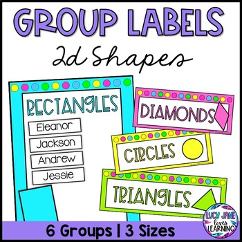 Math Group Names Worksheets & Teaching Resources | TpT