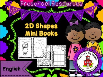 2D Shapes Mini Book