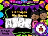 2D Shapes Mini Book Bilingual Bundle