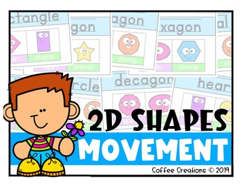 2D Shapes Movement - Interactive Game