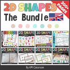 2D Shapes NO PREP the BUNDLE
