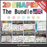 2D Shapes NO PREP BUNDLE {+British version}