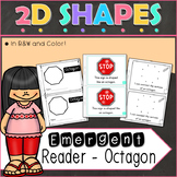 2D Shapes Octagon Emergent Reader