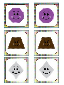 2D Shapes Packet