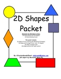 2D Shapes Packet for K