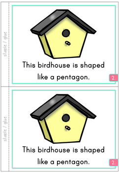 2D Shapes Pentagon Emergent Reader