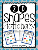 2D Shapes Pictionary