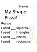 2D Shapes Pizza