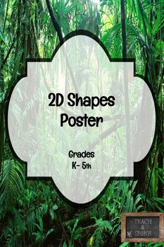 2D Shapes Poster
