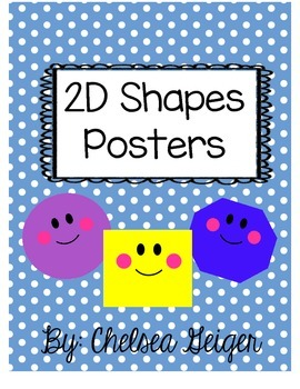 2D Shapes Posters