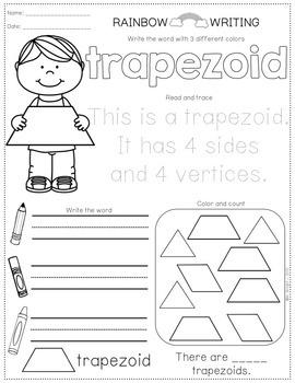 FREE 2D Shapes Printables