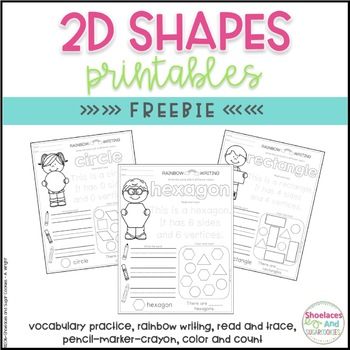 FREE 2D Shapes Printables