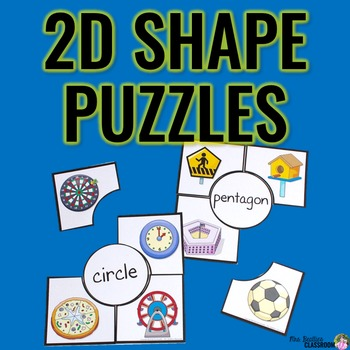 2D Shapes Puzzles