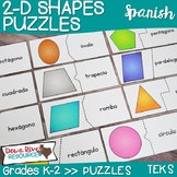 2D Shapes Puzzles | Two-Dimensional Shapes | Geometry TEKS