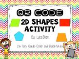 2D Shapes QR Code Activity