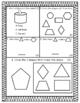 2D/3D Shape Test-END OF UNIT- Go Math MAFS.1.G.1.1 MAFS.1.G.1.2