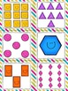 2D Shapes Read, Write, and Count the Room {Literacy and Math Center} {CCSS}