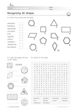 2D Shapes: Recognising 2D Shapes