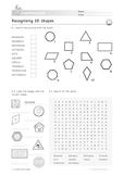2D Shapes: Recognising 2D Shapes