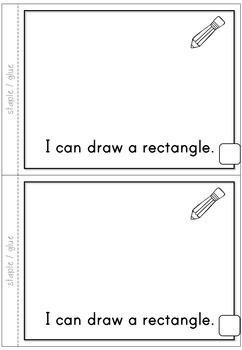 2D Shapes Rectangle Emergent Reader
