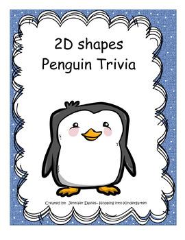 2D Shapes Review Penguin Activity