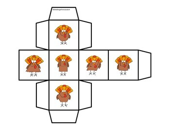 2D Shapes (Roll and Cover) Turkey