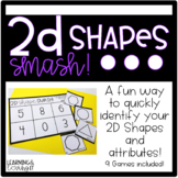 2D Shapes SMASH- Shape and Attribute fluency builder
