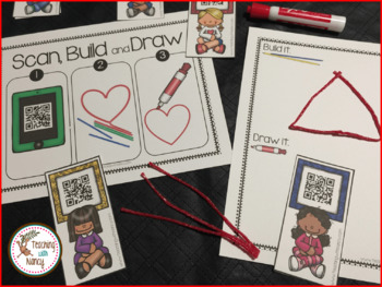 2D Shapes: Scan, Build and Draw