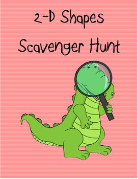 2D Shapes Scavenger Hunt