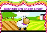 2D Shapes - Shannon the Shape Sheep