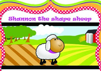 2D Shapes - Shannon the Shape Sheep