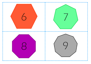 2D Shapes- Small Flashcards