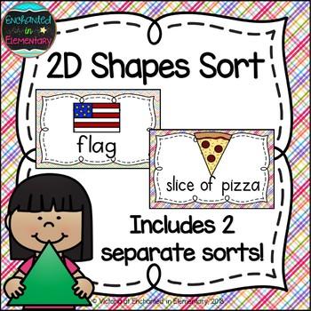 2D Shapes Sort