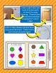 2D Shapes Sort & Match File Folder Game