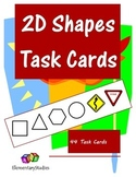 2D Shapes Task Cards - Common Core Aligned