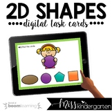 Math Boom Cards™ for Distance Learning | 2D Shapes