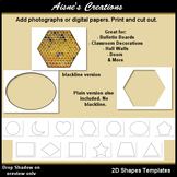 2D Shapes Templates