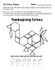 2D Shapes-Thanksgiving Turkey Activities