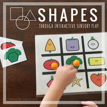 2D Shapes: Interactive Sensory Play
