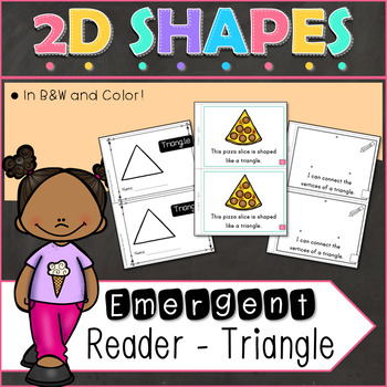 2D Shapes Triangle Emergent Reader