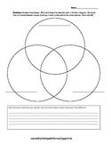 2D Shapes Triple Venn Diagram