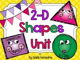 2D Shapes Unit {Common Core Aligned}