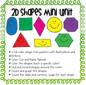 2D Shapes Unit by Easy Peasy Lemon Squeezy