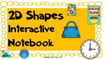 2D Shapes Virginia SOL's 1.12 & 1.13 Interactive Notebook or Poster Project