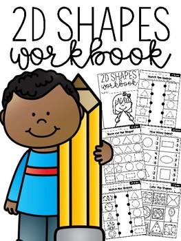 2D Shapes Workbook