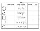 2d shapes worksheets teaching resources teachers pay teachers. Black Bedroom Furniture Sets. Home Design Ideas