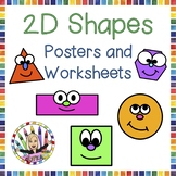 2D Shapes - Worksheets and Posters