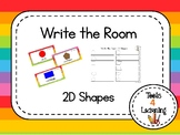 2D Shapes {Write the Room}
