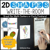2D Shapes Write the Room